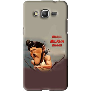 Snooky Printed Bhaag Milkha Mobile Back Cover For Samsung Galaxy Grand Max - Multi
