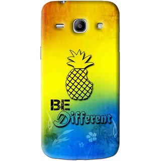 Snooky Printed Be Different Mobile Back Cover For Samsung Galaxy Star Advance SM G350E - Multi