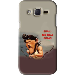 Snooky Printed Bhaag Milkha Mobile Back Cover For Samsung Galaxy j2 - Multi