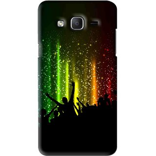 Snooky Printed Party Time Mobile Back Cover For Samsung Galaxy On5 - Multi