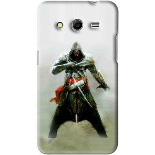 Snooky Printed The Thor Mobile Back Cover For Samsung Galaxy Core Prime - Green