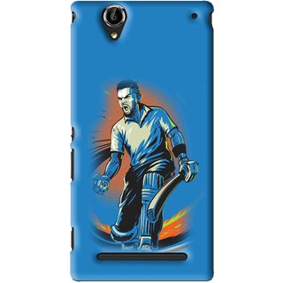 Snooky Printed I M Best Mobile Back Cover For Sony Xperia T2 Ultra - Blues