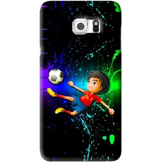 Snooky Printed High Kick Mobile Back Cover For Samsung Galaxy Note 5 - Multi
