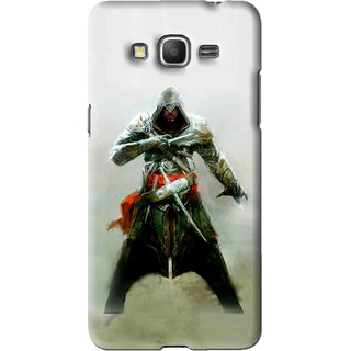 Snooky Printed The Thor Mobile Back Cover For Samsung Galaxy Grand Max - Green