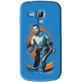 Snooky Printed I M Best Mobile Back Cover For Samsung Galaxy S Duos S7562 - Blues