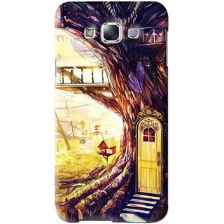 Snooky Printed Dream Home Mobile Back Cover For Samsung Galaxy A7 - Multi