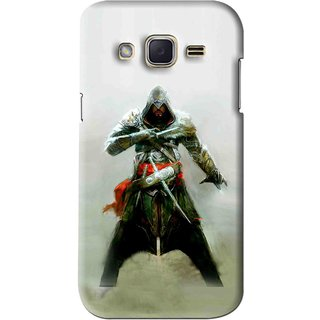 Snooky Printed The Thor Mobile Back Cover For Samsung Galaxy j2 - Green