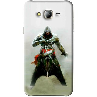 Snooky Printed The Thor Mobile Back Cover For Samsung Galaxy J7 - Green