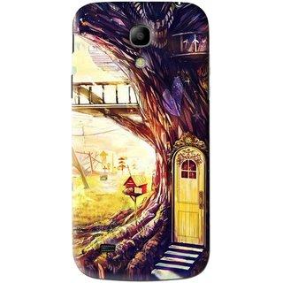 Snooky Printed Dream Home Mobile Back Cover For Samsung Galaxy s4 mini - Multi