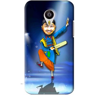 Snooky Printed Balle balle Mobile Back Cover For Meizu MX4 - Blue