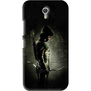 Snooky Printed Hunting Man Mobile Back Cover For Lenovo Zuk Z1 - Black