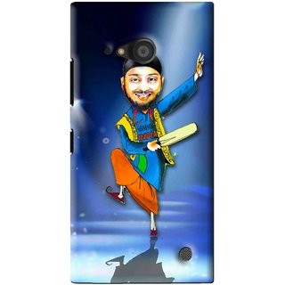 Snooky Printed Balle balle Mobile Back Cover For Microsoft Lumia 735 - Blue