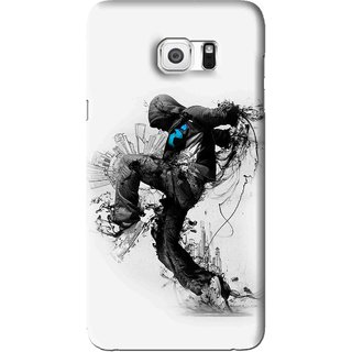 Snooky Printed Enjoying Life Mobile Back Cover For Samsung Galaxy Note 5 - White