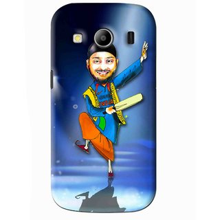 Snooky Printed Balle balle Mobile Back Cover For Samsung Galaxy Ace 4 - Blue