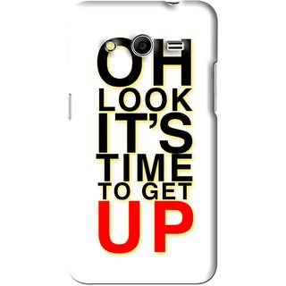 Snooky Printed Get Up Mobile Back Cover For Micromax Canvas Nitro 3 E455 - White