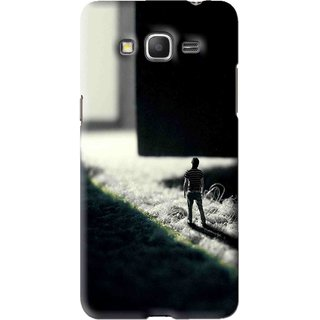 Snooky Printed God Door Mobile Back Cover For Samsung Galaxy Grand Max - Black