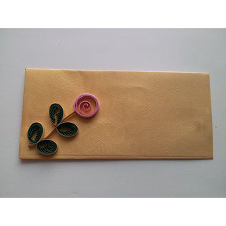 Beautiful Quelling Paper Envelope Yellow