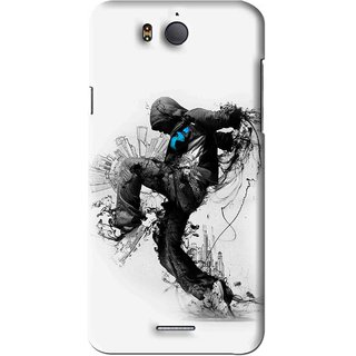 Snooky Printed Enjoying Life Mobile Back Cover For Infocus M530 - White