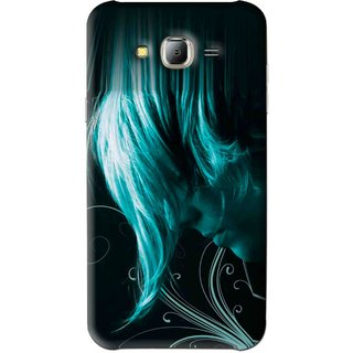 Snooky Printed Mistery Boy Mobile Back Cover For Samsung Galaxy J7 - Black