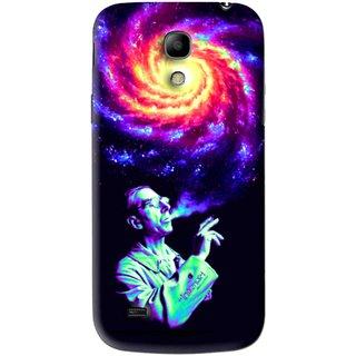 Snooky Printed Universe Mobile Back Cover For Samsung Galaxy s4 mini - Multi