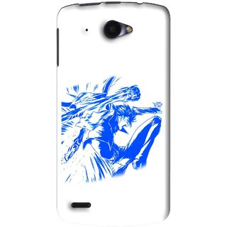 brand new d1ceb 72122 Snooky Printed Horse Boy Mobile Back Cover For Lenovo S920 - White