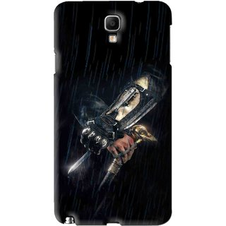Snooky Printed The Thor Mobile Back Cover For Samsung Galaxy Note 3 neo - Black