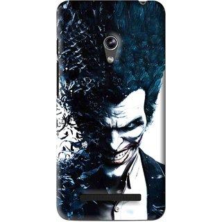 Snooky Printed Freaking Joker Mobile Back Cover For Asus Zenfone 5 - Black