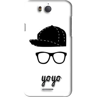 Snooky Printed Yo Yo Mobile Back Cover For Infocus M530 - White
