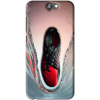 Snooky Printed Water Mobile Back Cover For HTC One A9 - Multi
