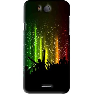 Snooky Printed Party Time Mobile Back Cover For Infocus M530 - Multi