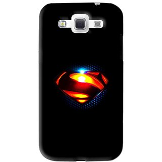 Snooky Printed Super S Mobile Back Cover For Samsung Galaxy 8552 - Black