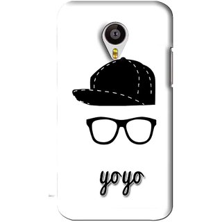 Snooky Printed Yo Yo Mobile Back Cover For Meizu MX4 - White
