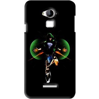 Snooky Printed Hero Mobile Back Cover For Coolpad Dazen Note 3 - Black
