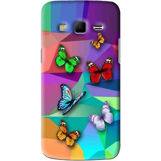 Snooky Printed Trendy Buterfly Mobile Back Cover For Samsung Galaxy S3 - Multi