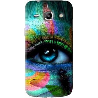 Snooky Printed Designer Eye Mobile Back Cover For Samsung Galaxy Star Advance SM G350E - Multi