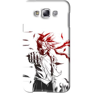 Snooky Printed Marshalat Mobile Back Cover For Samsung Galaxy A7 - White