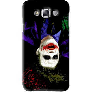 Snooky Printed Hanging Joker Mobile Back Cover For Samsung Galaxy A3 - Black