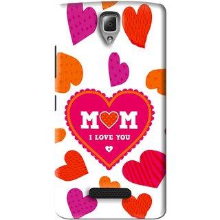Snooky Printed Mom Mobile Back Cover For Lenovo A2010 - White