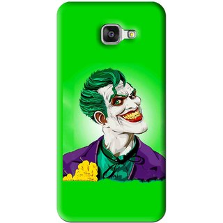 Snooky Printed Ismail Please Mobile Back Cover For Samsung Galaxy A7 2016 - Green