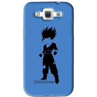 Snooky Printed Son Gohan Mobile Back Cover For Samsung Galaxy 8552 - Blue
