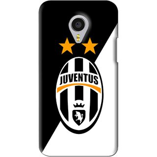 Snooky Printed Football Club Mobile Back Cover For Meizu MX4 Pro - Black