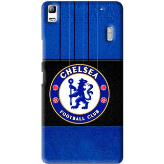 Snooky Printed FootBall Club Mobile Back Cover For Lenovo K3 Note - Blue