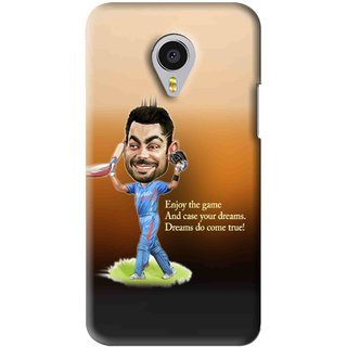 Snooky Printed True Dream Mobile Back Cover For Meizu MX4 Pro - Brown