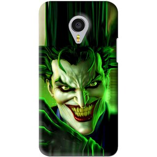 Snooky Printed Horror Wilian Mobile Back Cover For Meizu MX4 Pro - Green