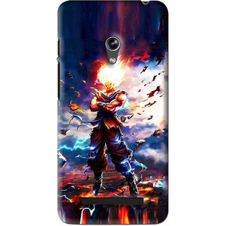 Snooky Printed In Anger Mobile Back Cover For Asus Zenfone 5 - Multi