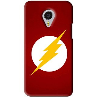 Snooky Printed High Voltage Mobile Back Cover For Meizu MX4 Pro - Red