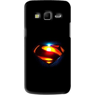 Snooky Printed Super Hero Mobile Back Cover For Samsung Galaxy S3 - Black