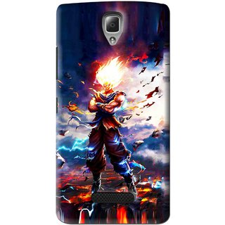Snooky Printed In Anger Mobile Back Cover For Lenovo A2010 - Multi