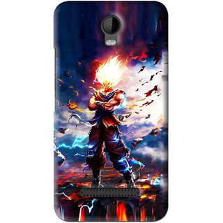 Snooky Printed In Anger Mobile Back Cover For Micromax Bolt Q335 - Multi