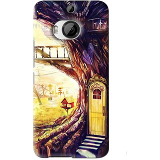 Snooky Printed Dream Home Mobile Back Cover For HTC One M9 Plus - Multi